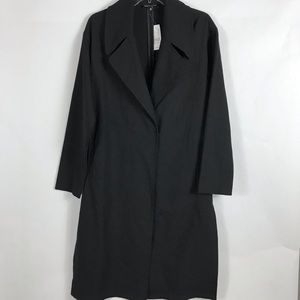 Kendall & Kylie Jackets & Coats - Kendall & Kylie Black Trench - SZ M - NWT
